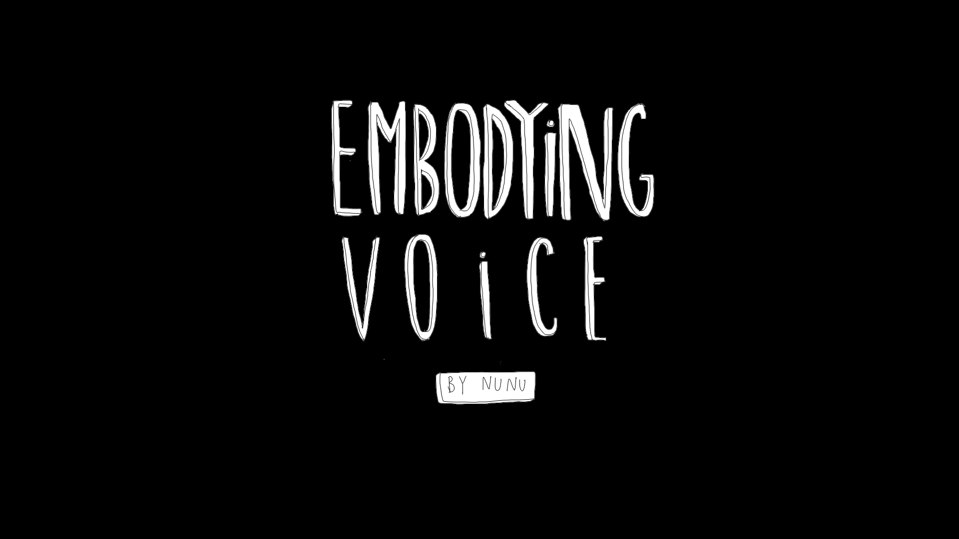 Embodying Voice